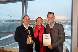 Oslo Airport receives communication award