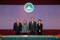 Secretary hosts inaugural ceremony of MGTO Director