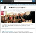 The Ritz-Carlton Hotel Company reveals its secrets to exceptional customer service through The Ritz-Carlton Leadership Center