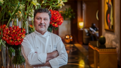 Italian food guru Emanuele Cappellini brings his worldly experience to Four Seasons Hotel Cairo at Nile Plaza