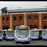 FirstGroup launches eight brand new state-of-the-art buses on services operating in Worcester, England
