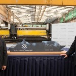 Silversea Cruises celebrated the start of construction of Silver Muse with the cutting of first steel at Fincantieri's Sestri Ponente shipyard in Genoa, Italy