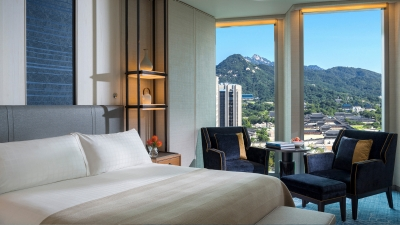 Four Seasons Hotel Seoul welcomes guests at the Korean capital's Central Business District