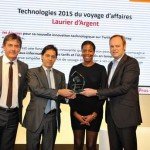 """Jet Airways wins """"Laurier d' Argent"""" award in the """"Technology for Business Travel"""" category at the International French Travel Market trade fair in Paris"""