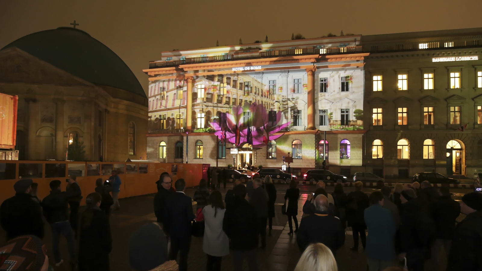"Macau Government Tourist Office presents 3D video mapping show titled ""Touching Moments"" at the Festival of Lights in Berlin"