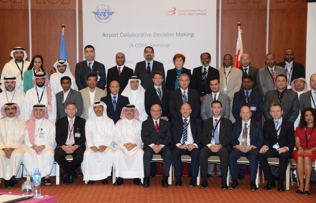 Bahrain Airport Company (BAC) hosted the ICAO Seminar on Airport Collaborative Decision Making (A-CDM) in Muharraq
