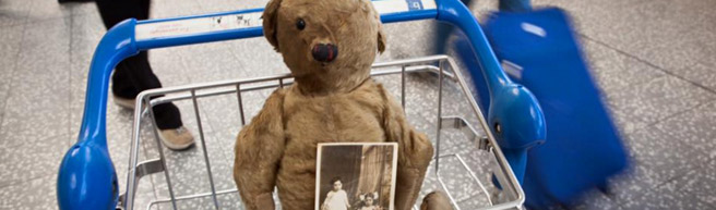 Bristol Airport: Antique 'Bristol Bear' to be auctioned; proceeds will go to Children's Hospice South West