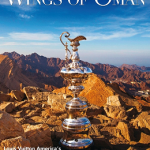 Oman Air inflight magazine Wings of Oman features The Louis Vuitton America's Cup World Series in its February 2016 edition