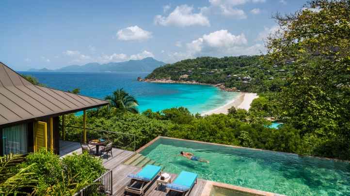 Travel pr news four seasons resort seychelles among the for 20 best hotels in the world