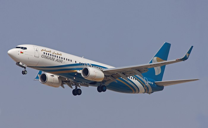 Oman Air took delivery of its new Boeing 737-800