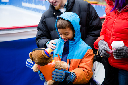 The Southwest Rink at Skyline Park opens in downtown Denver