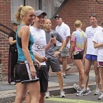 Britt McHenry and Tommy McFly at Sprint Four the Cure 2011