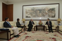 Director João Manuel Costa Antunes made a courtesy visit to Chinese Ambassador to India, H.E. Zhang Yan