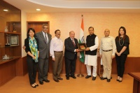 Director João Manuel Costa Antunes met with Cabinet Minister of Tourism of India, Subodh Kant Sahai
