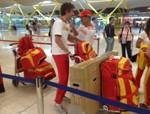 Iberia traslada a los deportistas paralímpicos