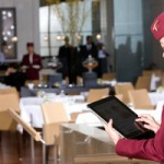 Qatar Airways Customers Get Personalised Service Through The Mobile Application In The iPad