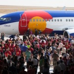 Southwest Airlines Unveiled Colorado One In Denver On Wednesday, August 22 2012. Stephen M. Keller, Southwest Airlines 2012.