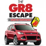 One lucky winner will drive home a new 2013 Ford Escape SE courtesy of the Super 8 hotel brand and its GR8 Escape sweepstakes