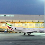 Arrival of First Domestic Flight to Al Ain International Airport