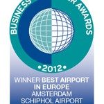 British business travellers vote Schiphol 'Best European Airport'