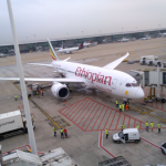 Ethiopian Airlines presents B787 Dreamliner at Brussels Airport