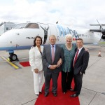 FLYBE UNVEILS 'THE MARY PETERS'