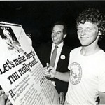 Isadore Sharp and Terry Fox