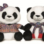 Limited-edition panda toy collectible for donations of at least $20