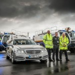 New Mercedes E-Class starts economy challenge at Nqy Airport