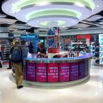 New World Duty Free store in Gatwick's South Terminal