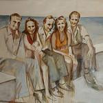 Painting by Galila Nawar