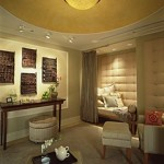 The Relaxation Lounge at the Spa at Four Seasons Chicago