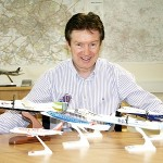 Tony Hallwood, Leeds Bradford Airport's Commercial Director, promotes the region to leading airlines