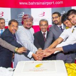 Muharraq, Bahrain; 22 Oct 2012: Bahrain Airport Company (BAC) welcomed the inaugural flight number 9W593 for Jet Airways to the Kingdom of Bahrain on Friday October 19, 2012 to conclude their new third weekly flight from Kochi to Bahrain in an event held at Bahrain International Airport.