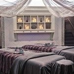 Begin the evening with 80-minute Amala massages poolside