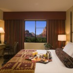 """Guests looking to spend Thanksgiving or Christmas in """"the most beautiful place in America,"""" according to USA Today will enjoy the Away for the Holiday Package from Hilton Sedona Resort & Spa. Credit: Hilton Hotels & Resorts."""