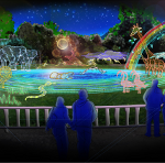 Introducing Seattle's first ever winter lights festival at the zoo. WildLights features wild animals and wild places recreated in thousands of sparking LED lights November 23 - January 1, 5:30-8:30 nightly. Tickets are available for purchase beginning October 15. Photo Credit: Woodland Park Zoo