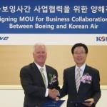 Korean Air Partners with Boeing in Defense Industry