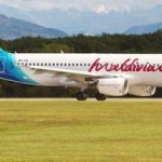 Maldives national airline, Maldivian's newest addition to its fleet, an A320 Airbus arrived in the country today