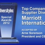 Marriott Named Top Company for Supplier Diversity