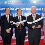 China Airlines' CI006 Celebrates US Visa Waiver Program for Taiwan