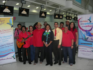 CARIBBEAN AIRLINES WARMS PEARSON INTERNATIONAL AIRPORT IN TORONTO WITH PARANG
