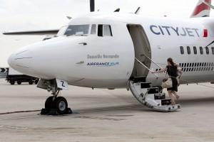 CityJet Fokker 50 Aircraft