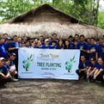 DUSIT THANI MANILA HOLDS TREE PLANTING