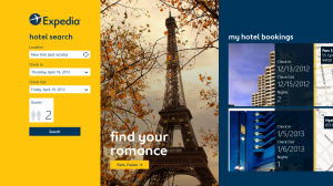 EXPEDIA APP ARRIVES FOR WINDOWS 8