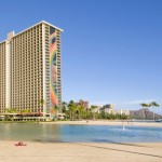 Hilton Hawaiian Village Waikiki Beach Resort has completed its seven-month, $4.3 million Tapa Pool rejuvenation project. Credit: Hilton Hotels & Resorts.