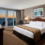 Hilton Myrtle Beach Resort at Kingston Shores, an oceanfront resort complex in Myrtle Beach, has joined with Comedy Zone to offer a romantic and hilarious way to welcome the New Year. Credit: Hilton Hotels & Resorts.