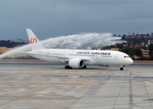 JAL Starts First Scheduled Nonstop Flight between San Diego and Asia Today