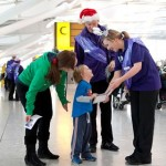 London 2012 volunteers return for Heathrow's Christmas getaway