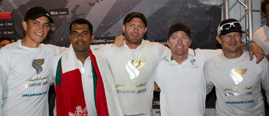 Oman Air Celebrates Success in Extreme Sailing Series